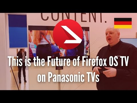 This is the Future of Firefox OS TV on Panasonic TVs