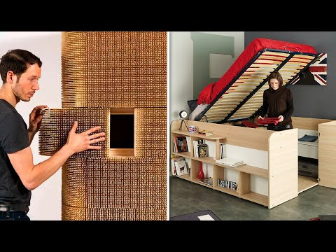 COOL TRANSFORMING FURNITURE THAT SAVES SPACE IN THE HOUSE