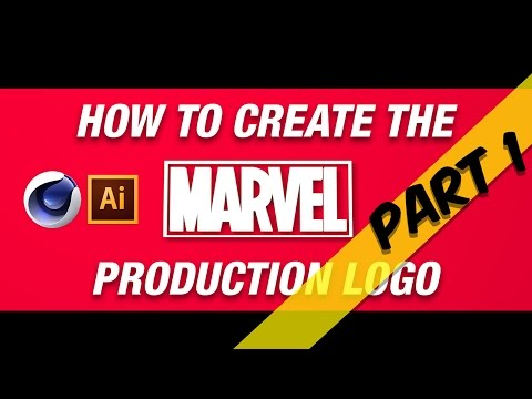 How to create the Marvel Production Logo - Part 1