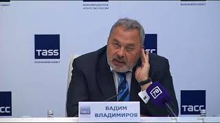 Смотреть видео Пресс-конференция: Закон о ГУПах и состояние конкуренции в Петербурге онлайн