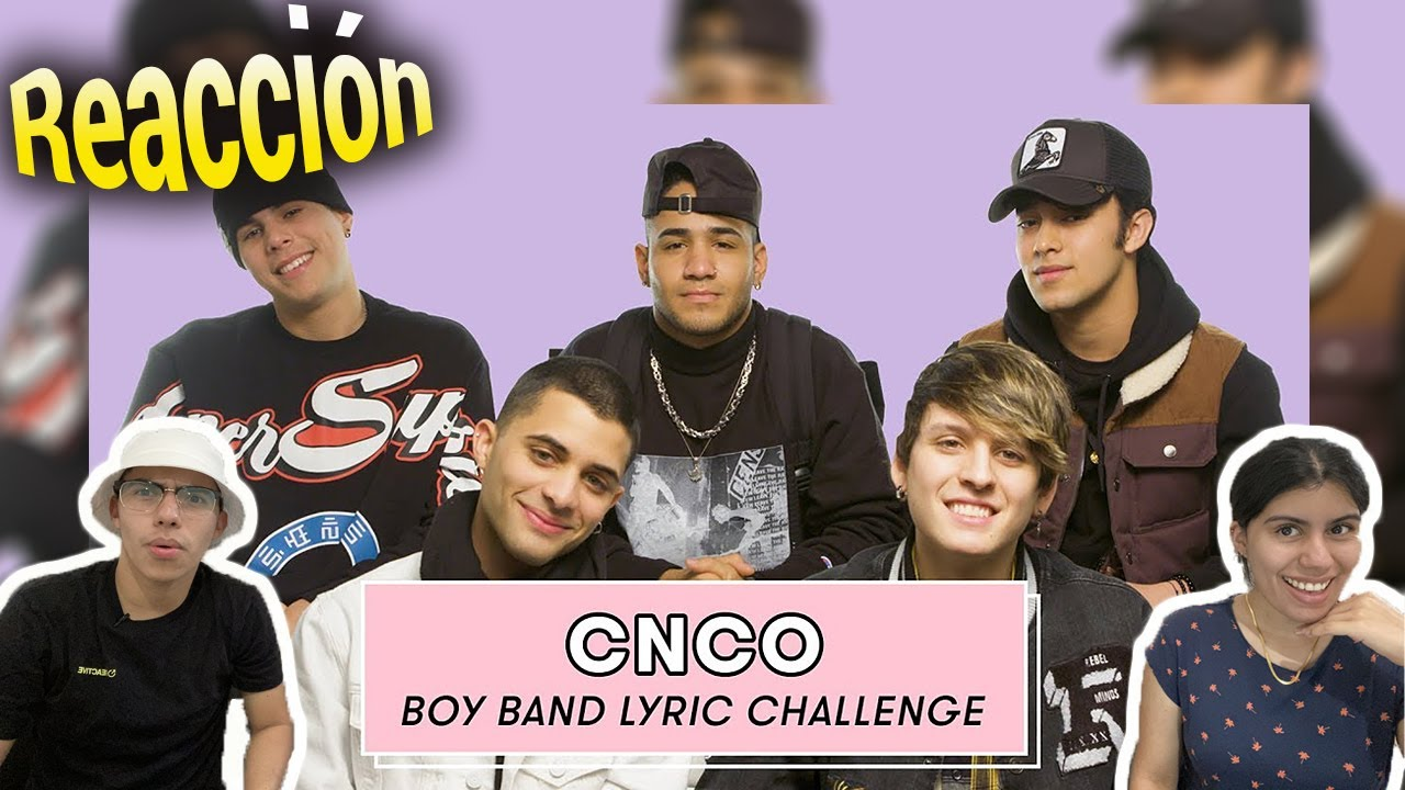 Download MEXICANOS REACCIONAN 🇲🇽II CNCO Sings Backstreet Boys, One Direction, and More Boy Band Songs 🎤