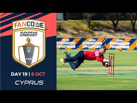 🔴 FanCode European Cricket T10 Cyprus,  Limassol | Day 19 T10 Live Cricket
