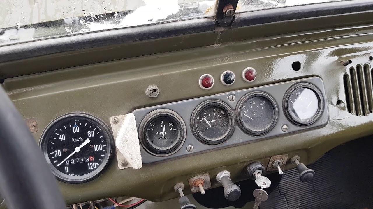 УАЗ-469 с консервации - YouTube
