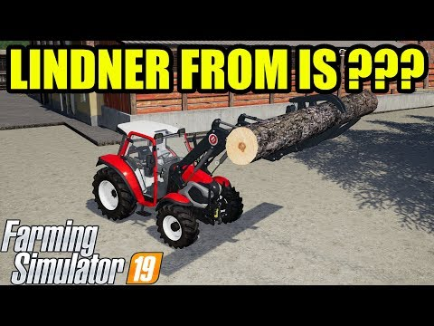 Farming Simulator 19 : LINDNER IS FROM AUSTRIA !!! SORRY GUYSS