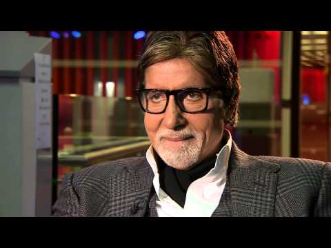 Amitabh Bachchan Saying funny things.