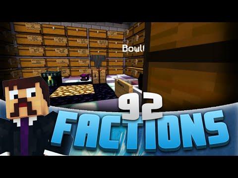 Minecraft Factions #92 - Raiding Big Claimed Base! (Minecraft Raiding)