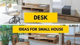45+ Creative Small Space Desk Ideas for Small House