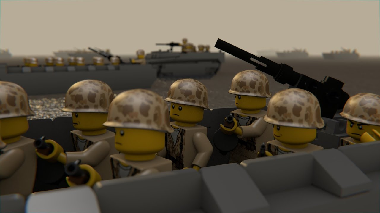 LEGO WAR IN THE PACIFIC 3 - YouTube