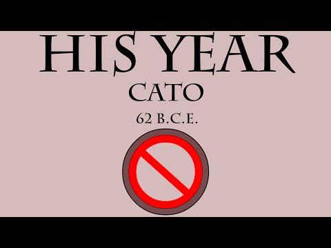 His Year: Cato (62 B.C.E.)
