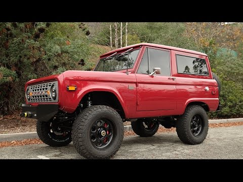 ICON BR #30 Restored and Modified 1974 Bronco Test Drive
