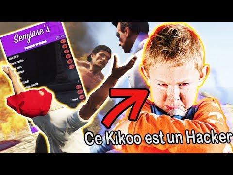 UN KIKOO MENACE DE ME HACK ET BAN ET IL VA VITE LE REGRETTER XD - GTA5 TROLL MOD MENU