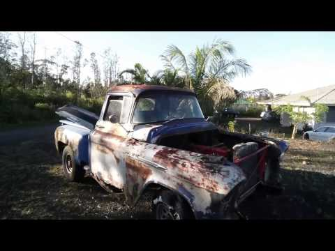 $200 craigslist 1956 chevy rat rod truck, barn find muscle