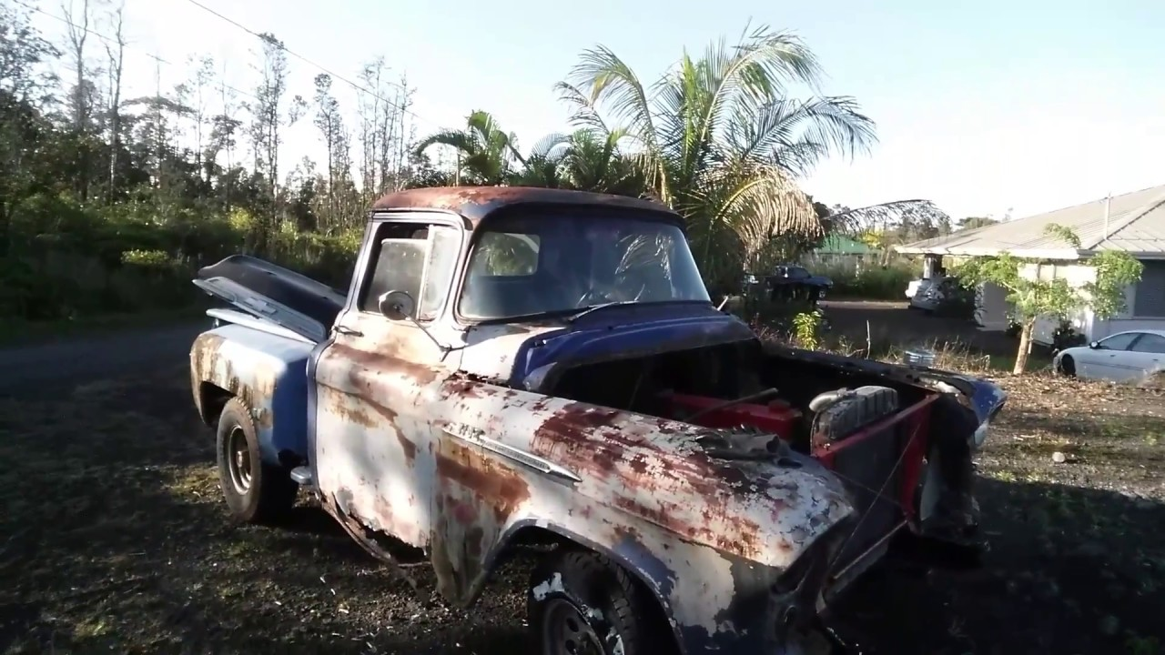 $200 craigslist 1956 chevy rat rod truck, barn find muscle truck and farm  trucks uncle