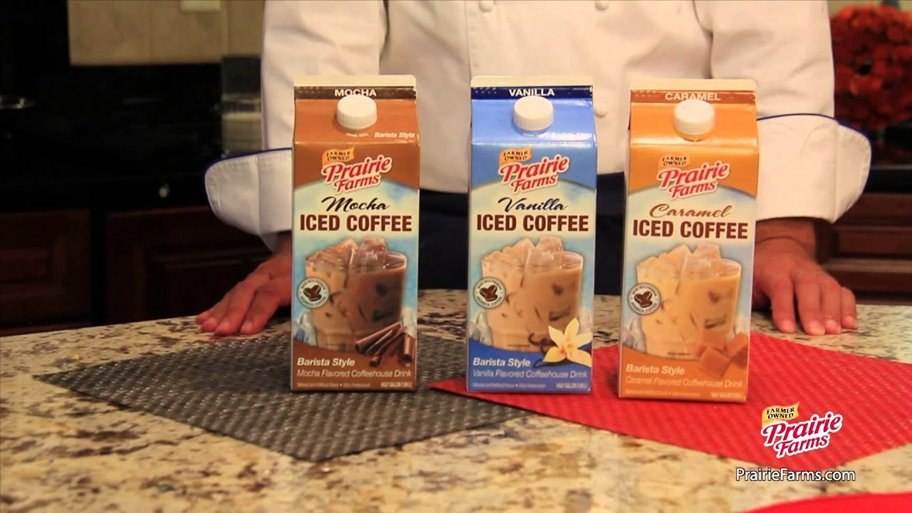 Prairie Farms Chef Rob Asks Did You Know Iced Coffee Is Available All Year Long Youtube
