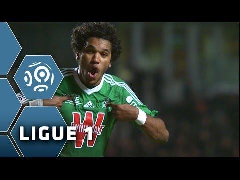 Goal BRANDAO (90' +2) - AS Saint-Etienne-Olympique de Marseille (1-1) - 16/02/14 - (ASSE-OM)