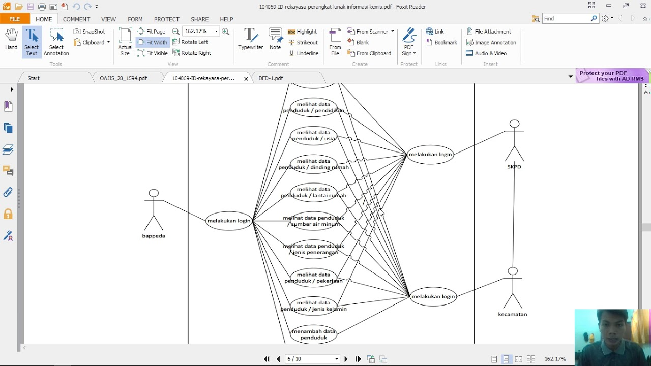 penjelasan diagram contect dan data flow diagram mppl