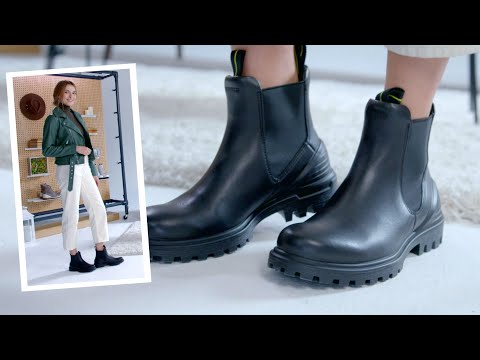 How To Wear | ECCO Women's Tred Tray Chelsea Boots