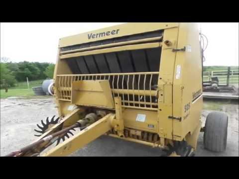 1990 vermeer 505 super i round baler for sale no reserve internet rh youtube com Vermeer Baler Bearings Vermeer Round Baler