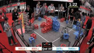2015 VRC Sci Q197 - 9551A 400X vs 1879 7845A - 75 to 71 - VEX Worlds 2015 - Science Division