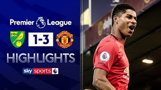 Man Utd miss TWO penalties on way to victory at Norwich | Norwich 1-3 Man Utd | EPL Highlights