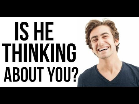 how to tell a guy you re thinking about him