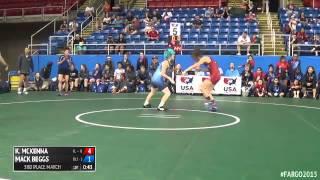 117 3rd Place - Mack Beggs (Texas 2) vs. Kerrigan McKenna (Illinois)