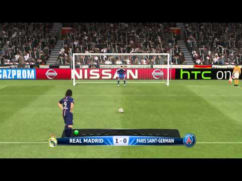 "Penalty Shootout ""Real Madrid vs Paris Saint-Germain | PES 2015"