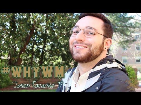 #whyWM: Jason Focarino '17