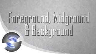 تكوين الفنانين - Ep.08 المقدمة ، Midground, والخلفية