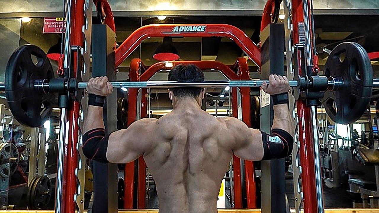 피지크 그랑프리를 만들어준 어깨 운동 끝판왕 루틴