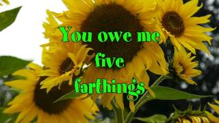Oranges and Lemons Nursery Rhyme Lyric video Tim Hart and Friends