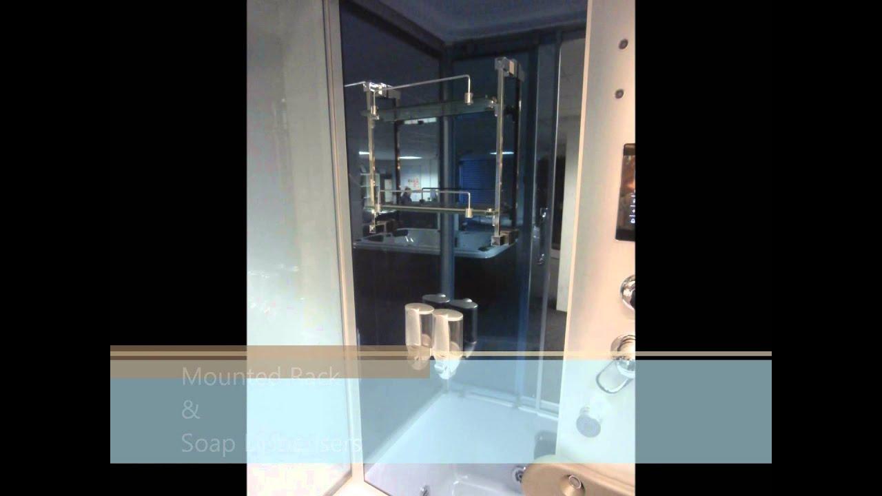 Superior Spas 2580 Steam Shower Cubicle Cabin Enclosure - YouTube