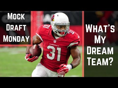 Live 2017 Fantasy Football Mock Draft: What's My Dream Team?