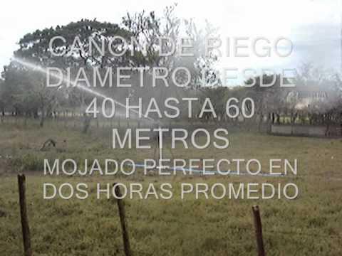 EQUIPO DE RIEGO CON CAÑONES thumbnail