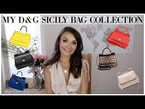 MY DOLCE & GABBANA SICILY BAG COLLECTION + WHY ITS UNDERRATED || March 2018 ♥