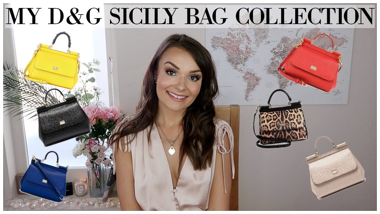 MY DOLCE   GABBANA SICILY BAG COLLECTION + WHY ITS UNDERRATED ... b144b4bfe582b