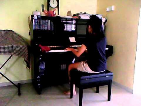 Piano Cover - Glee Imagine