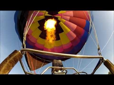 Mandy & Rob's Hot Air Balloon Adventure