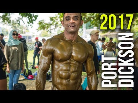 MR BODY SMART KARNIVAL PANTAI PORT DICKSON 2017 (Aesthetics): Backstage Scenes