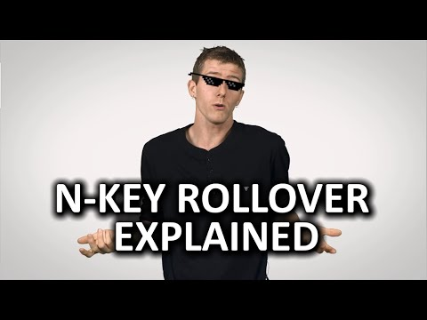 N-Key Rollover and Anti-ghosting for Keyboards as Fast As Possible