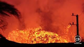 Up Close To Kilauea Lava Fissure 8 In Puna Hawaii