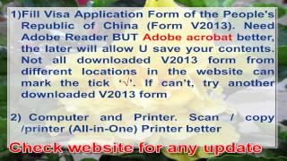 China Visa Application info (201508), invitation letter, 中国签证注意事项. passport photo, 10 year visa