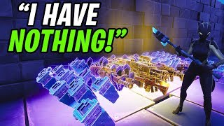 RICHEST Scammer Lost His WHOLE INVENTORY! (Scammer Gets Scammed) Fortnite Save The World