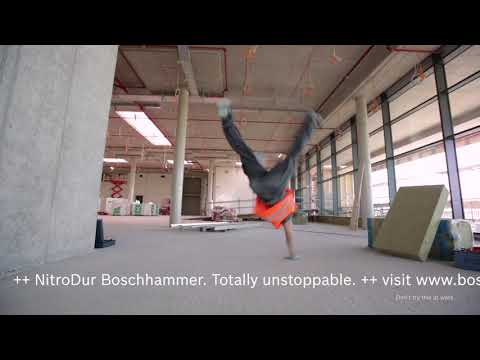 The NitroDur Bosch hammers. Totally unstoppable.