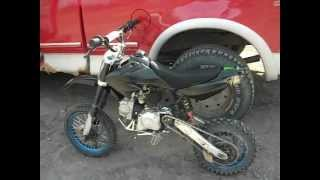 125cc DIRT-BIKE FOR SALE and TRASH WARS
