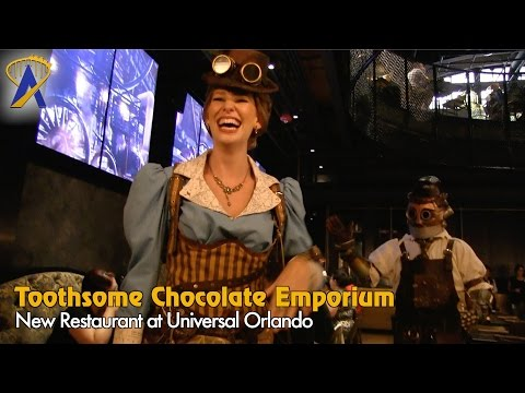 Toothsome Chocolate Emporium & Savory Feast Kitchen at Universal Orlando CityWalk