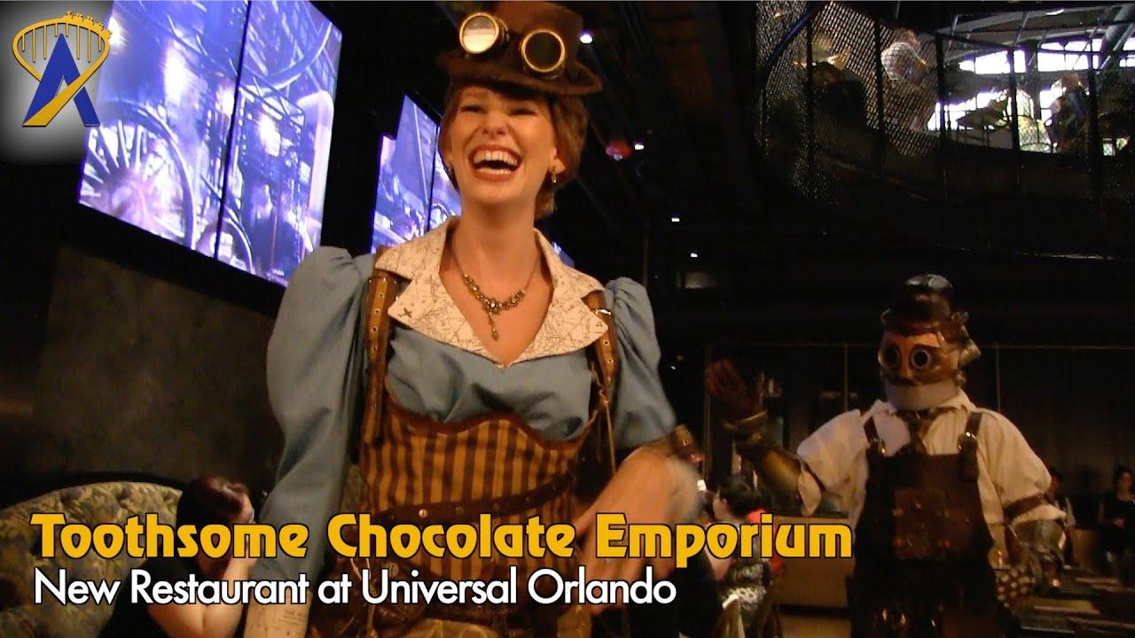 Toothsome Chocolate Emporium Savory Feast Kitchen At Universal Orlando Citywalk