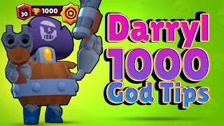 1000 ! Darryl ! God Tips ! Brawl Stars ! Dr.mmm ! 達里爾 ! 神級攻略! 荒野亂鬥!
