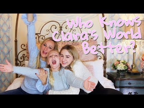 Who Knows Me Better? My Mom or Chloe? | Clara's World
