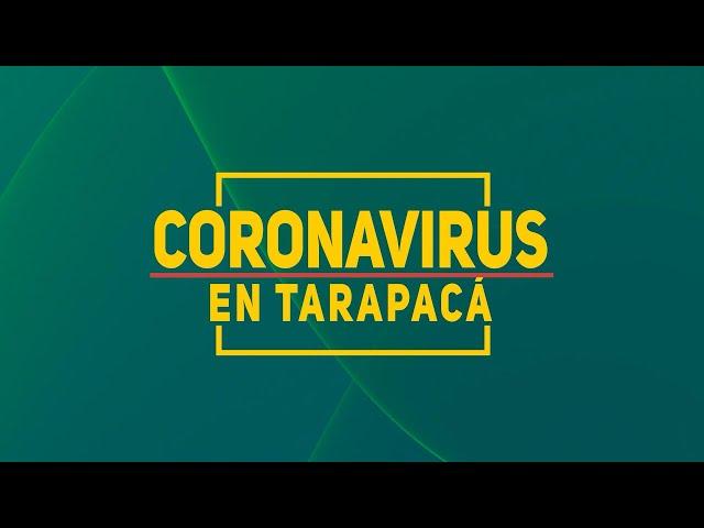CORONAVIRUS EN TARAPACA Promo iquiquetv.cl